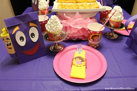 printable dora party decorations party themes for kids and teens moms munchkins