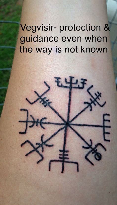what to use on a new tattoo my new i got last the vegvisir a viking