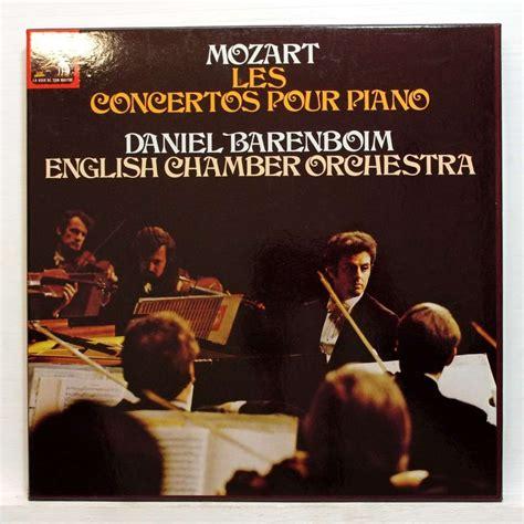 mozart piano concerto mozart complete piano concertos by daniel barenboim lp