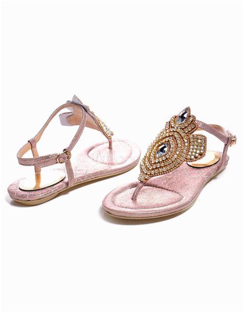 A C C E P T Spike Sandal Black bohemian t pony heel sheepskin womens flat sandals