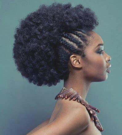 african haircuts on the sides braids on top side braided afro braids pinterest
