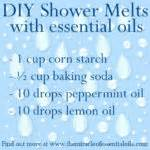 How To Use Essential Oils In The Shower by How To Use Essential Oils In The Shower The Miracle Of