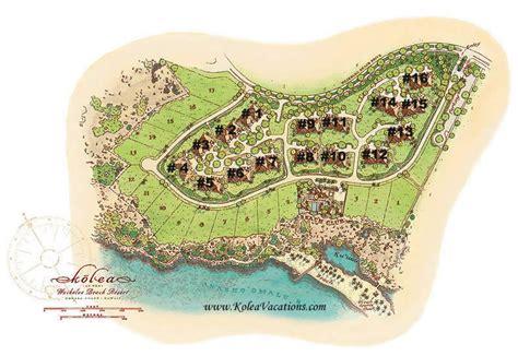 waikoloa resort map hawaii kolea vacations map of kolea on the big island