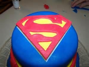 superman kuchen superman cake birthday