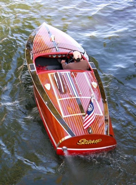 motorboat film 1940 16 chris craft special race boat notice the quot hood