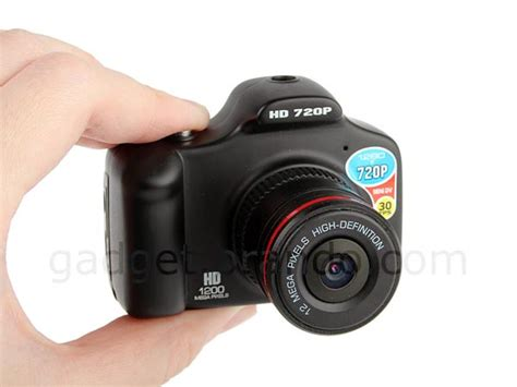 DSLR Shaped Mini Camera Gadgetsin