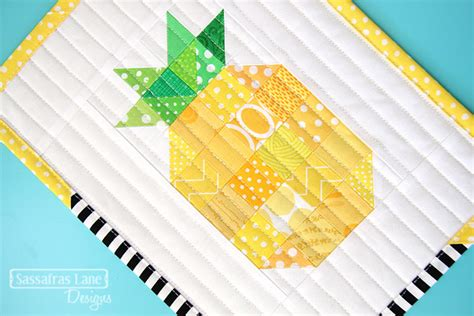 Pineapple Patchwork Pattern - more mini quilt inspiration the sewing loft