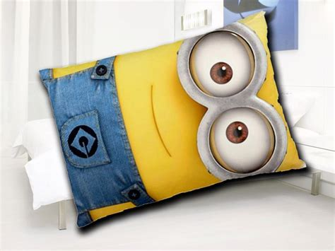 minion pillow bed pillow case despicable me 2 single minion pillow by