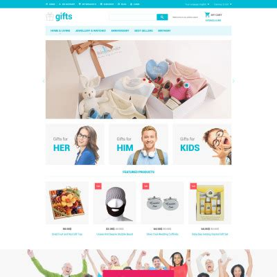 gifts websites all templatemonster templates