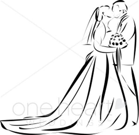 Wedding Kiss Clipart   Bridal Images
