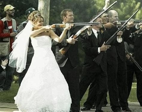 wedding shooting uninvited guests wedding the guest and