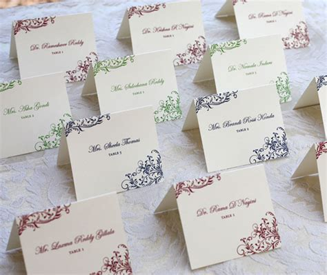 sle wedding table place cards what are cards weddinglovely