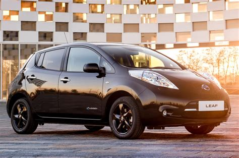 leaf nissan black nissan leaf black edition revealed autocar