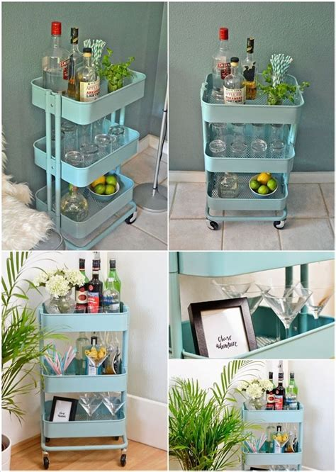 ikea raskog hack 15 clever ikea rolling cart hacks that are simply awesome