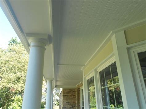 hardiesoffit beaded porch panel 23 best images about porch ceilings on vinyls