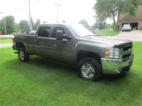 2009 chevy hd purchase used 2009 chevy 2500 hd 6 6l diesel std bed
