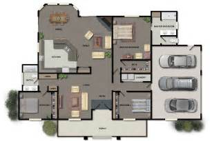 Home Design Blueprints floor plans