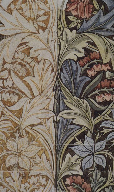 Design Art Wikipedia   file morris bluebell printed fabric design detail jpg