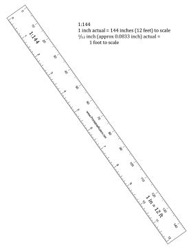 printable photo documentation ruler hobbyist 144th scale ruler printable ruler