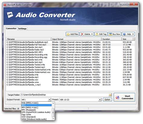 audio format converter linux auvisoft audio converter download