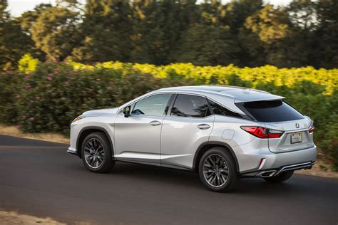 new lexus rx 2016 lexus rx detailed in the us through 137 new photos