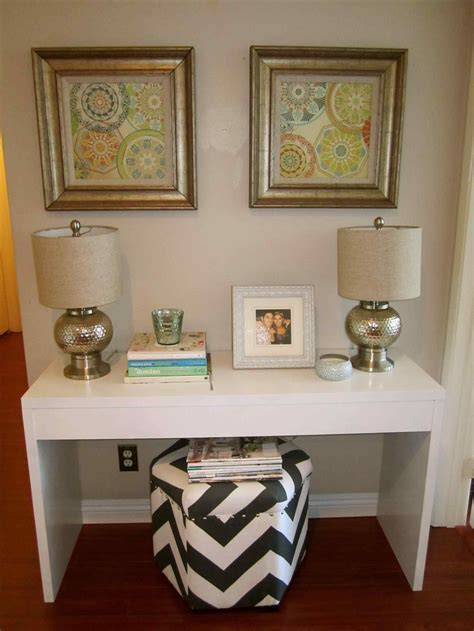 How To Decorate A Small Narrow Entryway