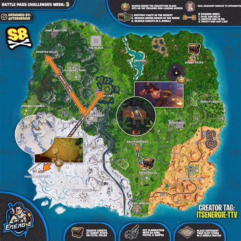 fortnite week 3 challenges fortnite season 8 week 3 sheet week 3 fortnite