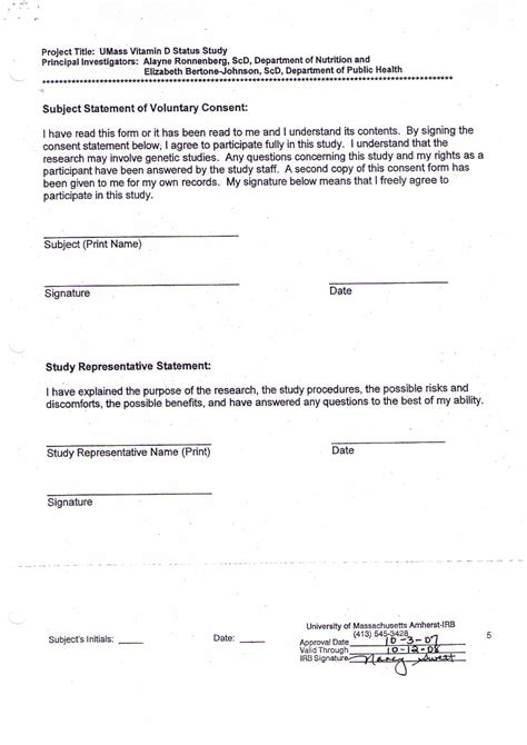 consent form for dissertation informed consent form thesis writefiction581 web fc2