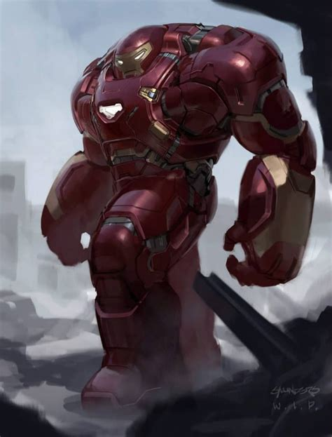 Age Of Ultron Iron The Vision Nations designs for hulkbuster vision and ultron in age of ultron iron design