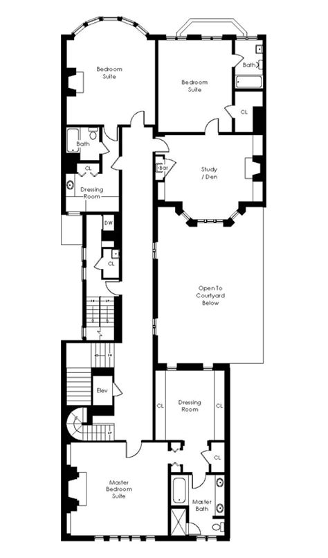 layout of tanner hall full house san francisco mansion floor plans
