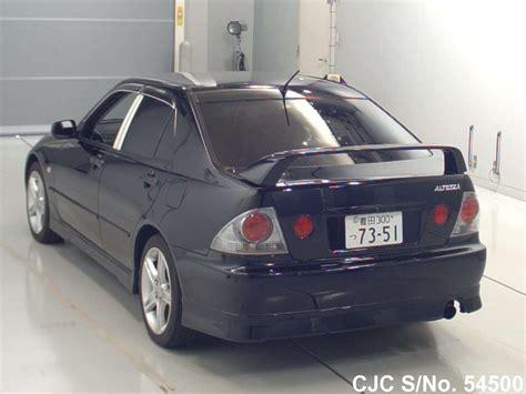 altezza car 2004 2004 toyota altezza black for sale stock no 54500