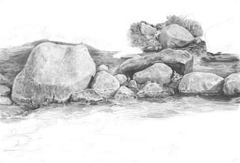 drawing rocks part tutorial  diane wright part