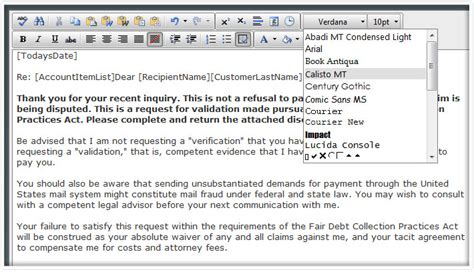 Credit Repair Template Letters Credit Repair Letter Library Free Credit Repair Letters Disputesuite