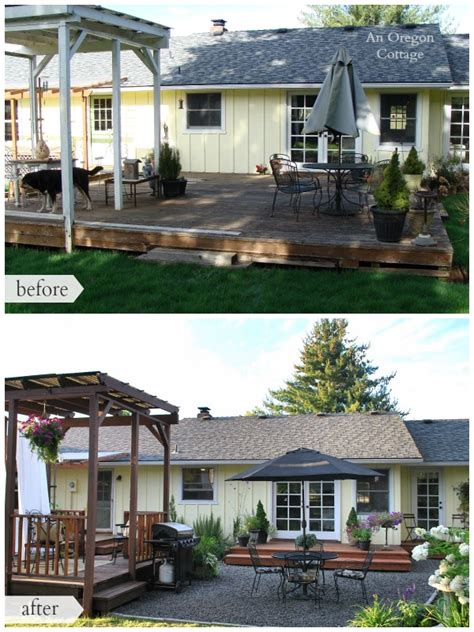 backyard makeovers before and after hometalk diy backyard makeover before and after