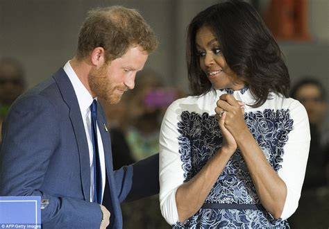 is michelle grace harry african american prince harry walks into oval office for meeting with