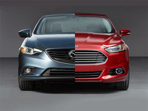 who designed the ford fusion the ford fusion faces against the mazda6