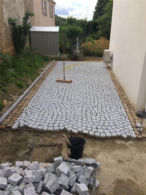 pose de pav 233 s en granit du portugal diy pose de pav 233 granit et portugal