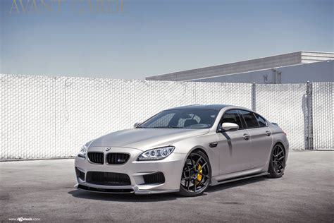 Bmw Gran Coupe M6 by Cleanly Modded Bmw M6 Gran Coupe On Avantgarde Wheels