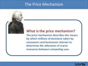What Is The Price Of Price Mechanism Introduction