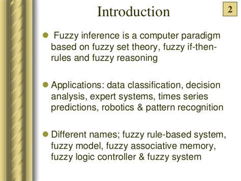pattern classification based on fuzzy relations abhimanyu alekh deepak fuzzy interfearence design