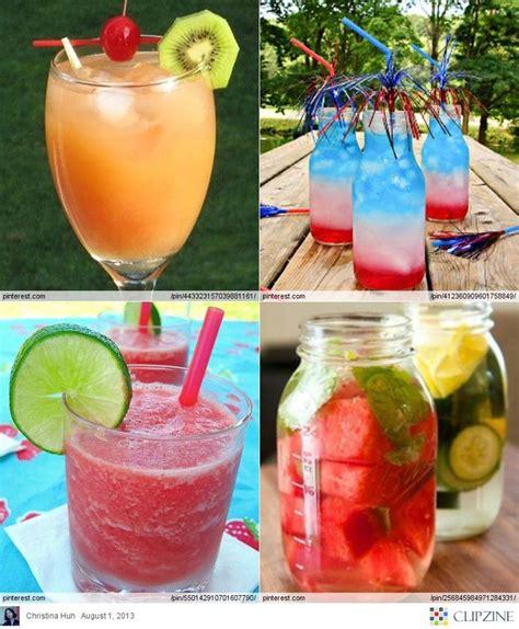 summer drink ideas recetas pinterest