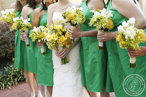 Wedding Bouquet Yellow Green 4 yellow green wedding yellow and green bouquets