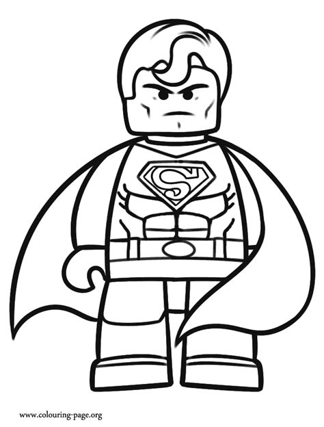 printable coloring pages lego superman the lego movie coloring page beautiful