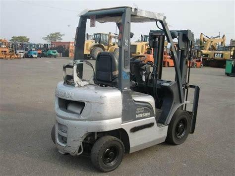 used nissan forklift parts nissan forklift pl02 2003 used for sale