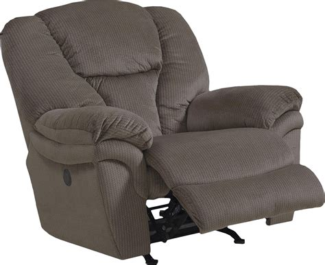 super comfort recliner chaise catnapper drew power lay flat recliner granite cn 64613