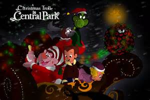 a christmas troll in central park by axlaxl2a on deviantart