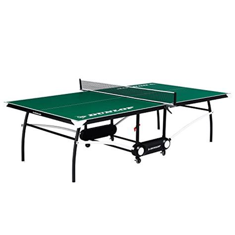 dunlop outdoor ping pong table dunlop 2piece table tennis table