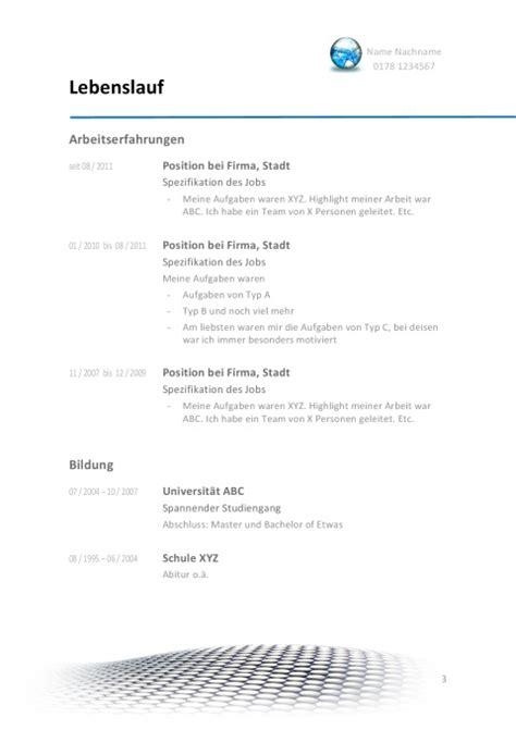 Aufbau Antichronologischer Lebenslauf Lebenslauf 2017 Muster Aufbau Gestaltung Tipps Jobguru