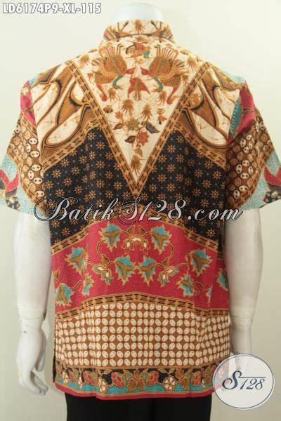 Kemeja Lengan Pendek Batik Sinaran 2 jual kemeja lengan pendek elegan bahan batik motif sinaran proses printing pakaian batik