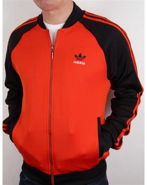 Sweater Black Orange Lis adidas originals superstar track top orange black jacket